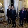 Hollande offers to start drafting of comprehensive peace agreement